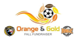 Reserved Table for Orange & Gold Gala