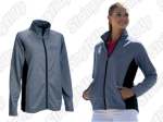 Women's Navy Heather Full Zip