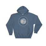 Bvb. Hooded Sweatshirt Heavy Blend Indigo Blue