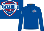 Level Up 1/4 Zip Shooting Shirt w/ number