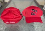 Stretchfit 2's Ball Cap - All Red