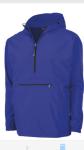 Blue Charles River Rain Jacket