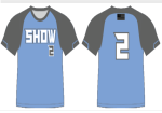 Additional Blue Jersey Sublimated