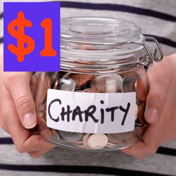 $1 Charity Donation