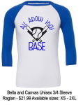 ALL ABOUT THAT BASE 3/4 SLEEVE RAGLAN