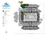 2018 ProBowl Ticket Section L (Upper Deck)