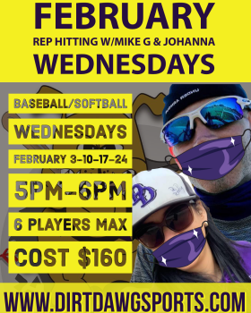 Rep Hitting with Mike G & Johanna Feb