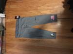 Grey Leggings w/ Logo/American Flag (W/ Shipping)