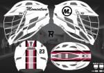 Momentum Lacrosse Cascade R Decals
