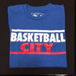 Basketball City Block Letter T-Shirt (Short Sleeve