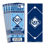 Ticket for D12 day with the Rays @ Tropicana Field