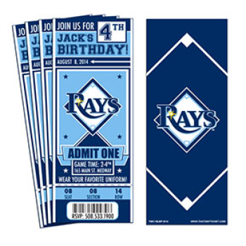 Ticket for OLL day with the Rays @ Tropicana Field