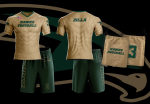 Custom Short Sleeve Warm Up Shirt, Shorts and Bag