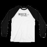 Bvb. Unisex Long Sleeve Baseball Jersey Black