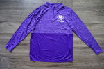 (A-LARGE) 1/4 Zip - Purple Panthers Lacrosse Logo