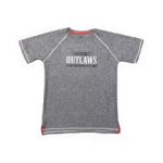 Alcatraz Outlaws Shooter- Grey