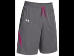 UA Shorts - Reversible - Grey/Pink/White