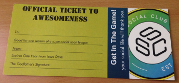 $50 League Gift Certificate