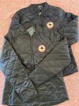 Ladies Black Quilted Jacket - S