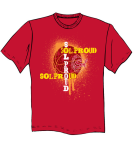 Sol Proud Red T-Shirt