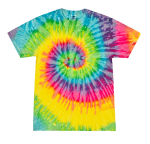 Adult Cotton Tie Dye T Sports Force Parks