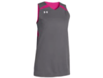 Under Armour Jersey - Reversible - Grey/Pink/White