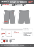 Practice Shorts (Backup/Spare)