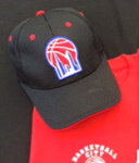 Basketball City Logo Fitted Hat