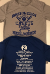 3rd. Annual James McElroy Tourney Performance Tee