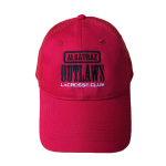 Alcatraz Outlaws Mesh Hat Red