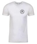 Custom ELEV8 Lacrosse Crew Neck White T-Shirt