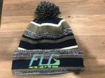Boys Winter Hat FLG Neon Green Logo