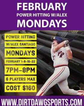 Power Hitting w/Alex Santiago Feb