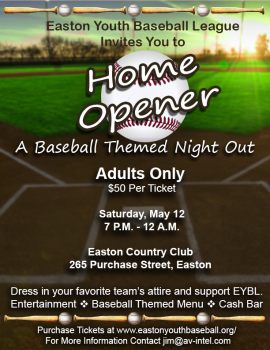 Home Opener Spring Event
