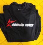 Badger Black Houston Stars T-Shirt