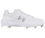 UA Yard Low Top White Team Cleat