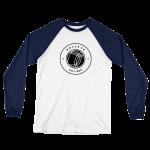 Bvb. Unisex Long Sleeve Baseball Jersey Blue