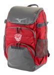 Mizuno Organizer Backpack- Red