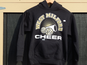 Youth Cheer Megaphone Hooded Sweatshirt