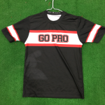 Black Go Pro Baseball Jersey