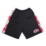 Alcatraz Outlaws Floral Shorts - Black
