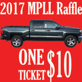 2017 Raffle ticket