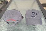 2's Grey Ball Cap - Unstructured Adjustable