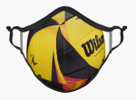 Volleyball Addict Face Mask