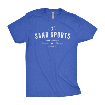 Sand Sports Men's Blue Tee
