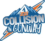 Collision in Conway Logo