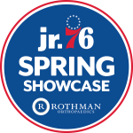 Jr. 76ers Spring Showcase presented by Rothman Orthopaedics Logo