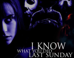 I Know What You Did Last Sunday - Heather Red logo