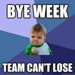 Bye Week - Neon Orange logo