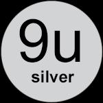 9u Silver logo